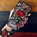 iPhone 7/8 Plus Embroidery Rose case with Embroidery - Best Reviews Guide