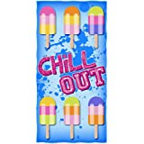 Chill Out Cotton Beach Towel