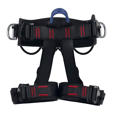 MYXMY Arnés de escalada, Cinturones de seguridad seguros Escalada ...