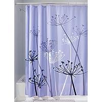 InterDesign Botanical Poly Fabric Shower Curtain