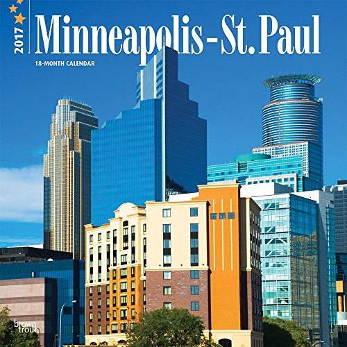 Minneapolis St. Paul 2017 Wall Calendar