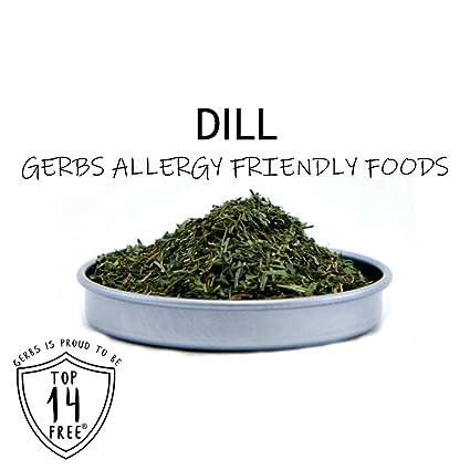 Dried Dill Weed por gerbs – .85 oz. shacker Jar – Alimentos ...