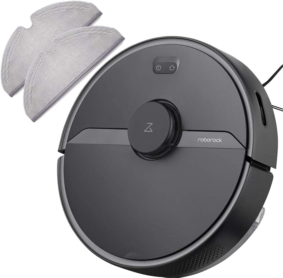 Roborock S6 Pure Robot Vacuum Cleaner and Mopping Cloth