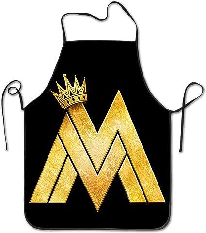 Maluma Logo profesional Chef Unisex delantal : Amazon.es ...