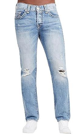 a92f29d79 Amazon.com  True Religion Men s Rocco Skinny Super T Jeans in Dusty ...