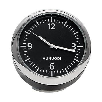 Reloj digital para coche, decoración interior del salpicadero del coche