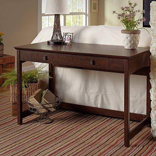 Bush Furniture Buena Vista Writing Desk in Madison Cherry (Desk Traditional Writing)