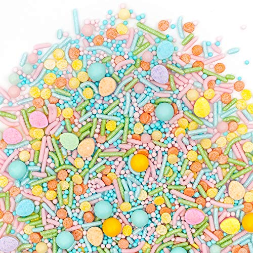Easter Sprinkles   Egg Hunt Sprinklefetti   Gorgeous Sprinkle Blends for Every Occassion   GLUTEN FREE. NUT FREE. DAIRY FREE.