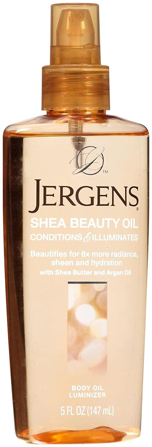 Jergens Shea Beauty Body Oil Luminizer for Unisex, 5 Ounce 19591