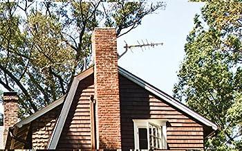 Rca Compact Outdoor Yagi Hdtv Antenna With 70 Mile Range 1