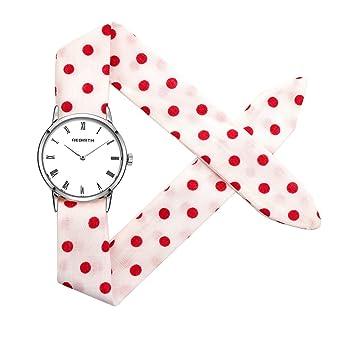 reloj femeninos pequeños relojes de las mujeres elegantes país de las hadas reloj sen mori estilo de la universidad universidad frescas lindo: Amazon.es: ...