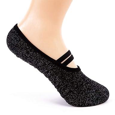 Calcetines De Yoga Ballet Calcetines De Antideslizantes ...