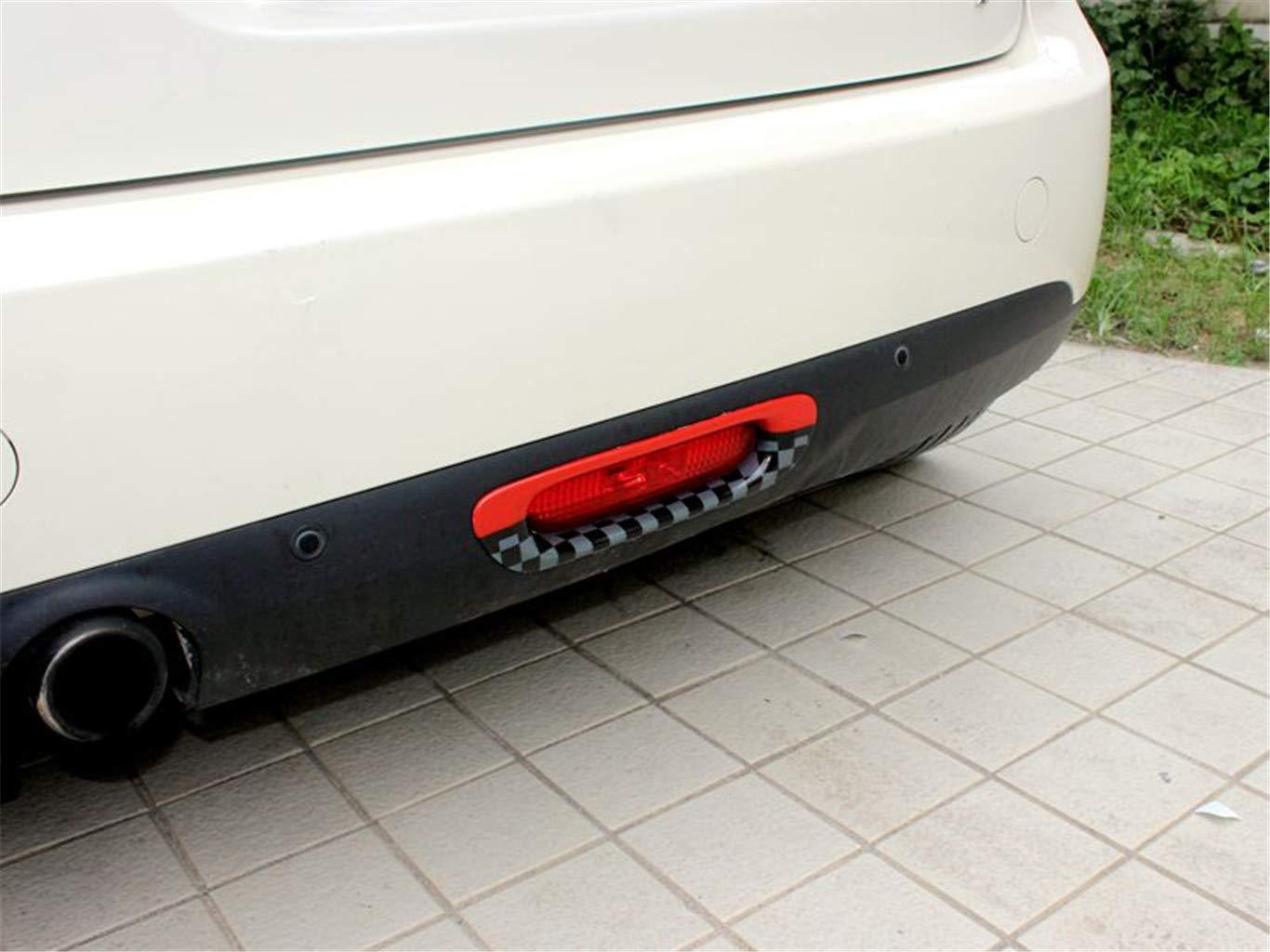 HDX Feu arri/ère pour feu arri/ère Cadre de Lampe de Frein Capuchon de Garniture pour Mini Cooper F55 Hardtop F56 Hatchback F57 Covertible feu arri/ère