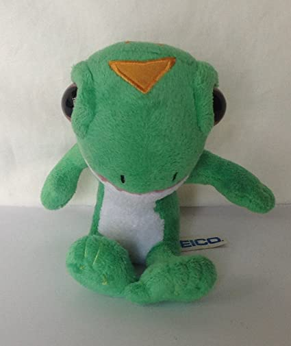 amazon com geico gecko 5 5 plush stuffed animal llizard toys games