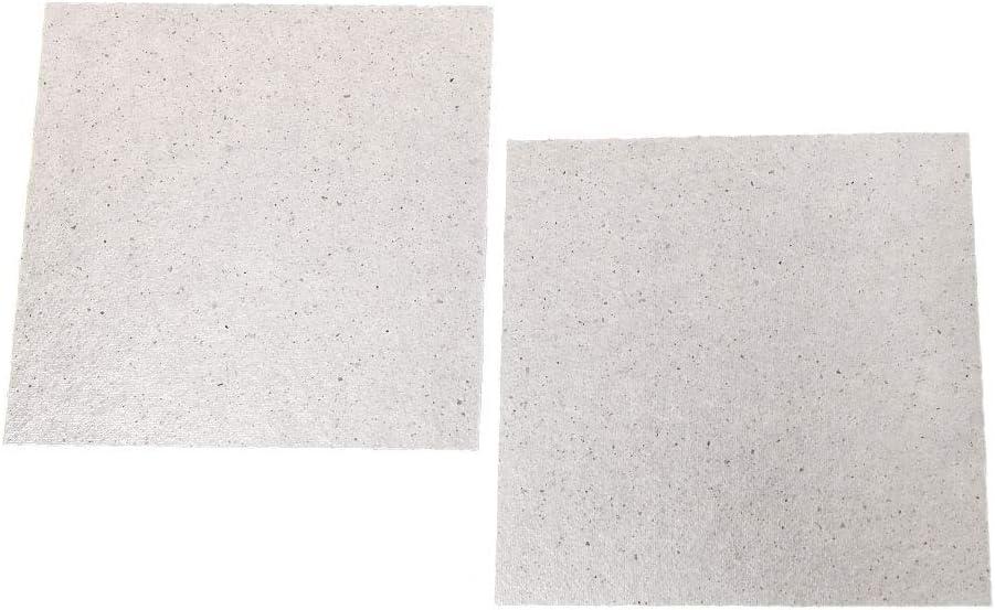 zhiwenCZW 2 STK 5,1x 5,1 Mikrowellen-Glimmerplatten Reparatur von Zubeh/örplatten