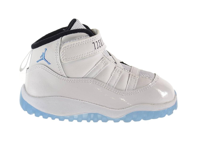 Amazon.com | Air Jordan 11 Retro BT Baby Toddlers Shoes White/Legend  Blue-Black 378040-117 | Sneakers