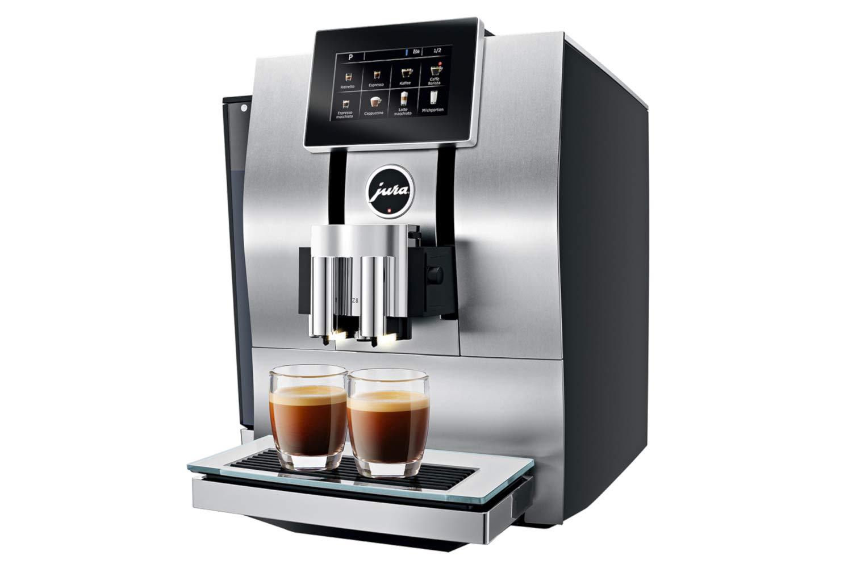 Jura Z8 Aluminum Automatic Espresso /& Cappuccino Machine with Touch screen