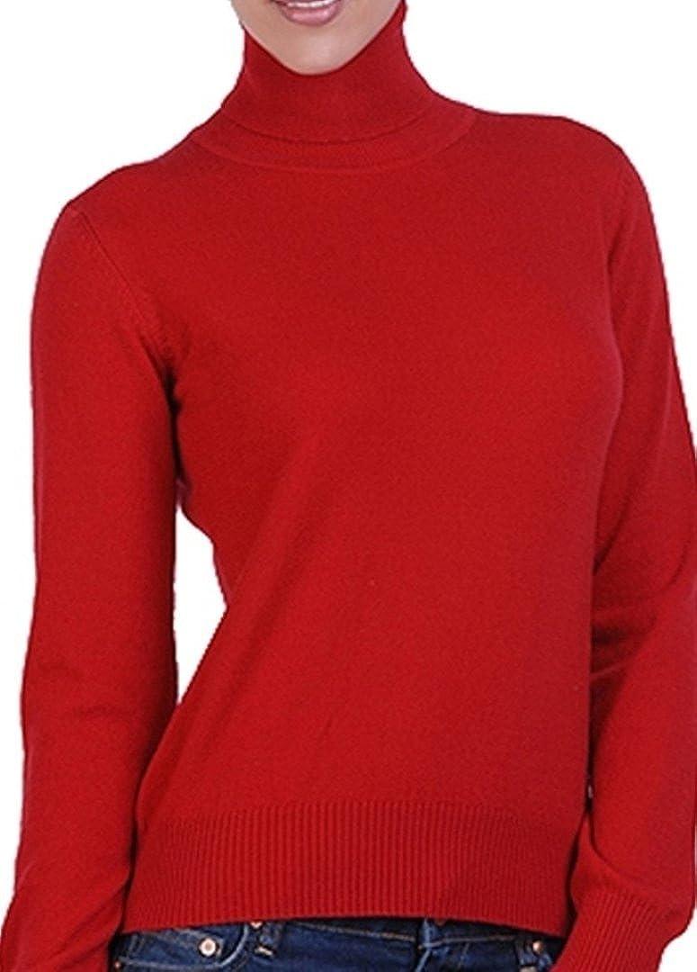 100 kaschmir damen pullover rot