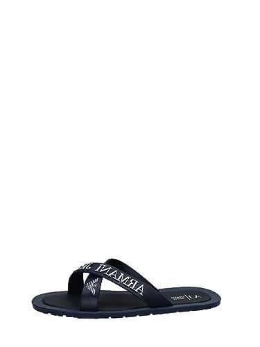 0cd4d9e1d Armani Men s Fashion Sandals Blue Blue - Blue  Amazon.co.uk  Shoes ...