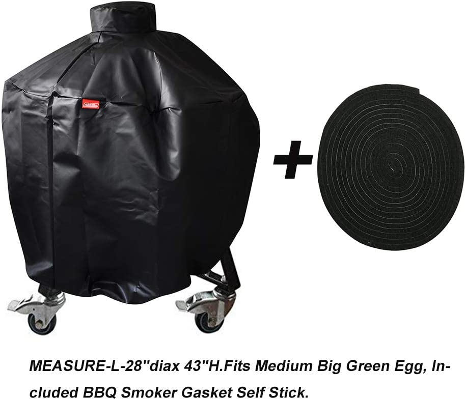 Vision Grill Cover Large Weather Proof UV Protected Kamado Style Ceramic Cooker