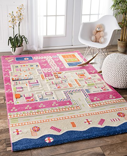 Nuloom Summertime Playhouse Rug Pink product image