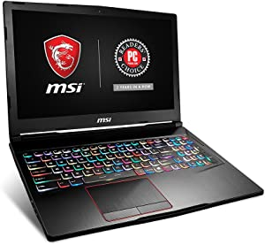 "MSI GE63 Raider-008 15.6"" 120Hz 3ms Extreme Gaming Laptop i7-7700HQ GTX 1050 4G 16GB 1TB SSD Windows 10"