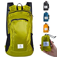 4Monster Hiking Daypack,Water Resistant Lightweight Packable Backpack for Travel...
