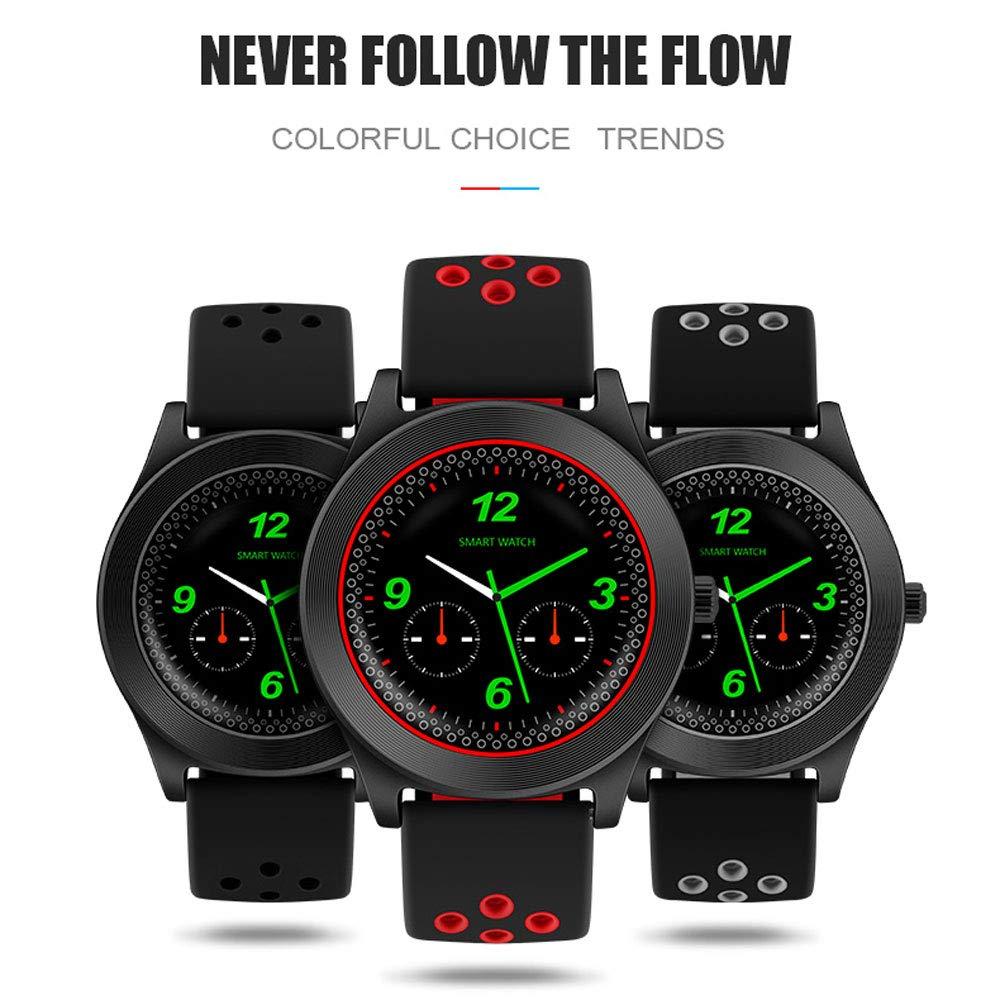 LCTCSB Contador de pasos del reloj inteligente Bluetooth Contador ...