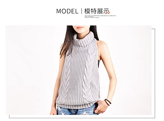 e8f8dd01582f5d Kamma women sleeveless open back sexy sweater anime cosplay pullover jumper  sweater backless jpg 522x386 Backless