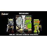 SDCC 2016 Exclusive Mega Bloks TMNT Kubros Michelangelo vs Rocksteady Special Edition