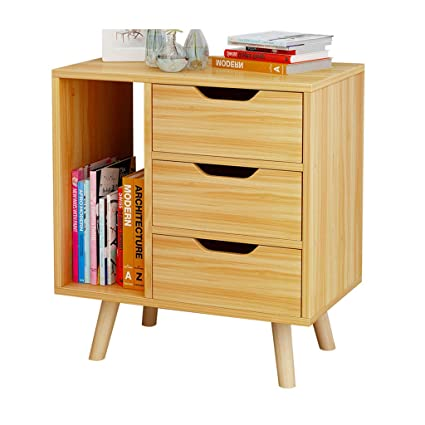 Amazoncom Dressing Table Bedside Cabinet Storage Cabinet Solid
