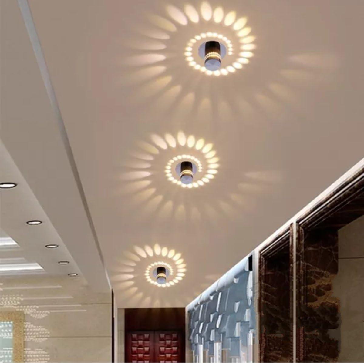 Interior Ceiling Light Ceiling Spot For Hallway Bedroom Living Room Bathroom Stairs Corridor Warm White Amazon Co Uk Lighting