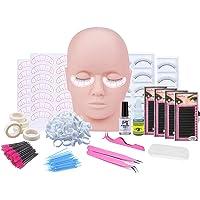 Wimper Training Kit, Professionele Wimpers Extension kit Mannequin Hoofd Lip Make-up Wimpers Enten Training Tool Kit Kom…