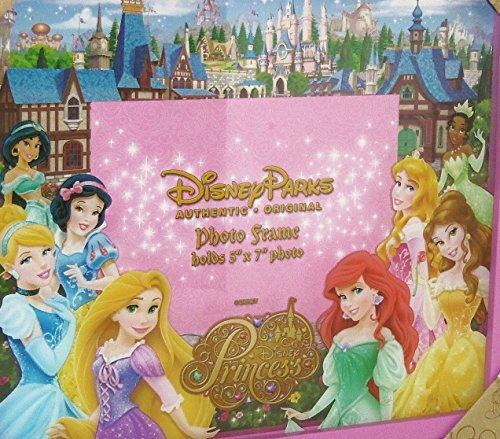"Disney Parks Shadowbox ""DIsney Princesses"" 5x7 Photo Frame - Disney Parks Exclusive & Limited Availability + Princess Pen Included"