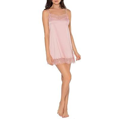 Smart & Sexy Women's Satin & Lace Slip Dress at Women's Clothing store
