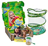 Insect Lore Live Butterfly Growing Kit Toy - 5 Caterpillars to Butterflies