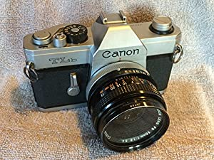 Canon TLb 35mm SLR manual focus film camera body only; lens is not included