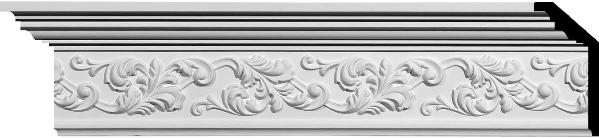 Factory Primed Ekena Millwork MLD05X02X06RI-CASE-2 Richmond Crown Moulding 5 1//2H x 2 1//4P x 6F x 94 1//2L 2-Pack