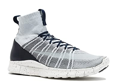 6a5870db59c2 NIKE Men s Free Mercurial Superfly Shoes Pure Platinum Dark Grey Obsidian Summit  White