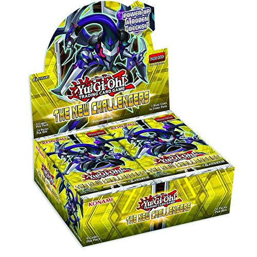 1st Edition Yu Gi Oh Booster - Yugioh The New Challengers 1st Edition Booster Box SEALED