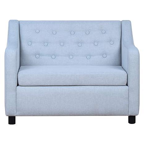 Amazon.com: BabyLand Kids Sofas Armrest Chair (Double Seats ...
