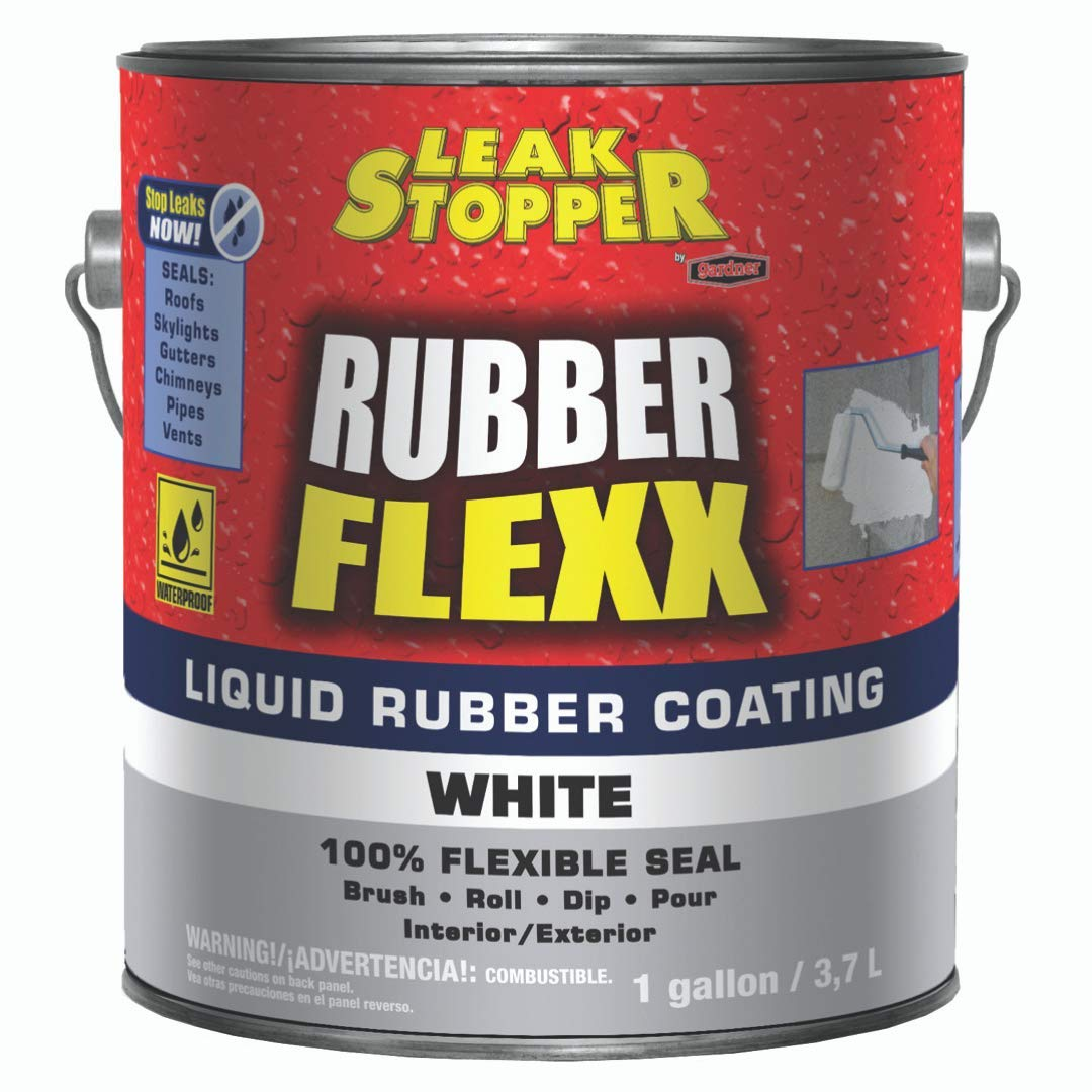GARDNER-GIBSON 5578-1-20 1-Gallon White Flexx Liquid Rubber Coating