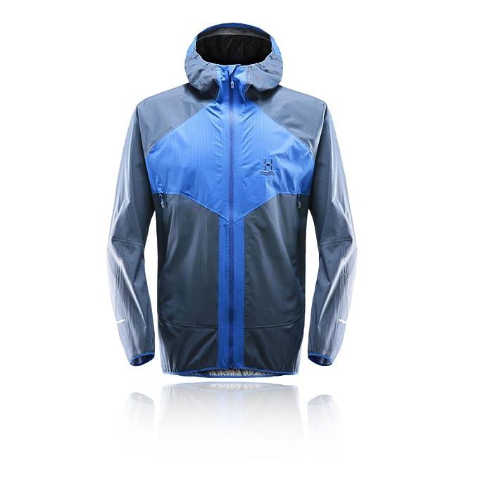 Haglöfs L.I.M Proof Multi Jacket, Chaqueta Deportiva para Hombre, Azul (Cobalt Tarn Blue