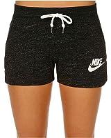 Nike Gym Vintage Women's Shorts, Grey Heather/Sail