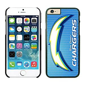 San Diego Chargers Case For iPhone 6 Plus Black 5.5 inches