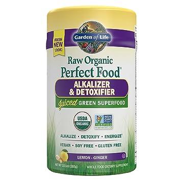 garden of life vegan green superfood powder raw organic perfect whole food alkalizer detoxifier - Garden Of Life Perfect Food