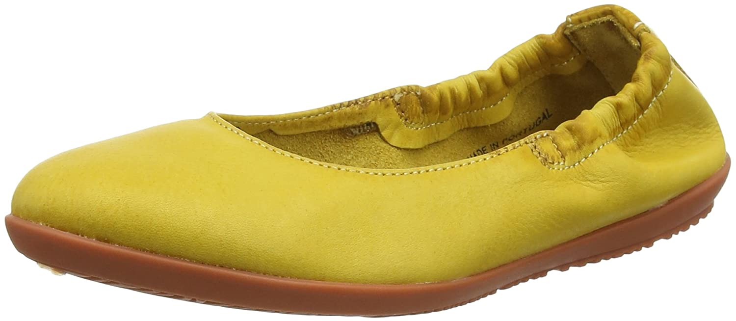 Softinos Ona380sof Ona380sof Gelb B079TKTQN2 Washed, Ballerines Bout fermé Femme Gelb (Yellow) 0545fd4 - therethere.space