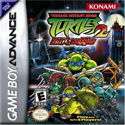 Teenage Mutant Ninja Turtles 2 Battle Nexus Game Boy Advance Game Boy Advance Computer And Video Games Amazon Ca