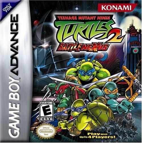 Teenage Mutant Ninja Turtles 2 Battle Nexus Game Boy Advance Game Boy Advance Computer And Video Games Amazon Ca