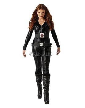Extremement Black Widow Ensemble de Costume Déguisement super-héros Marvel MM-05